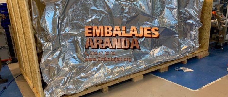 Embalaje industrial Camariñas A Coruña