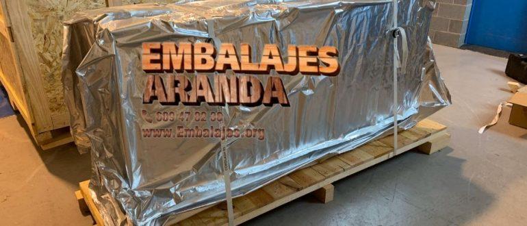 Embalaje industrial Campanario Badajoz