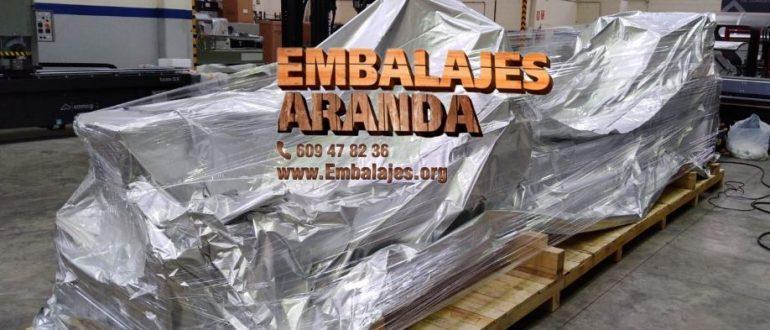 Embalaje industrial Coristanco A Coruña