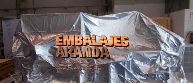 Embalaje industrial Cuntis Pontevedra