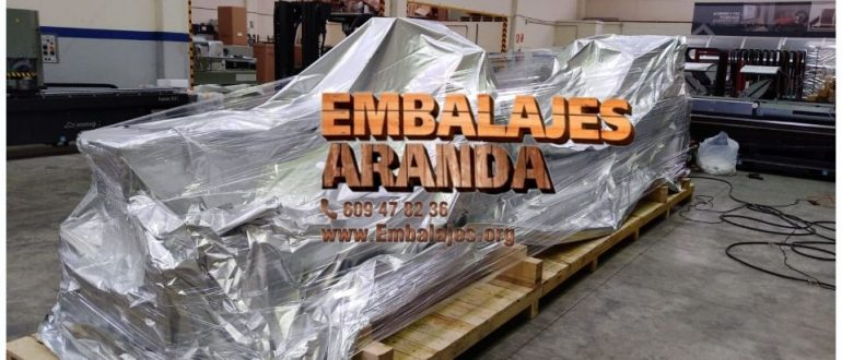 Embalaje industrial Finestrat Alicante