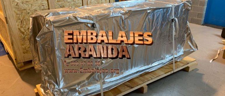 Embalaje industrial Fuente de Cantos Badajoz