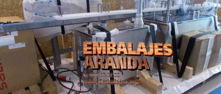 Embalaje industrial Iurreta Bizkaia