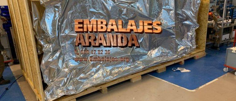 Embalaje industrial Jerez de los Caballeros Badajoz