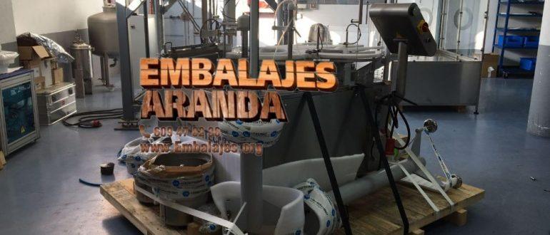 Embalaje industrial Lardero La Rioja