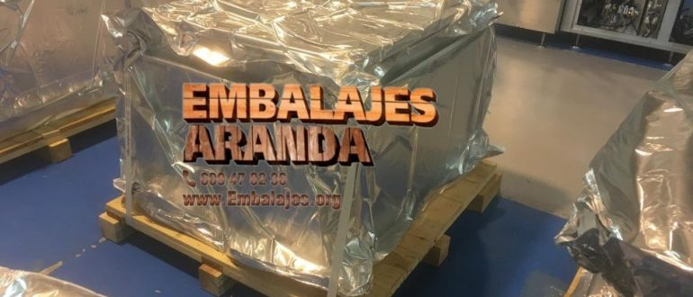 Embalaje industrial Malpartida de Plasencia Cáceres