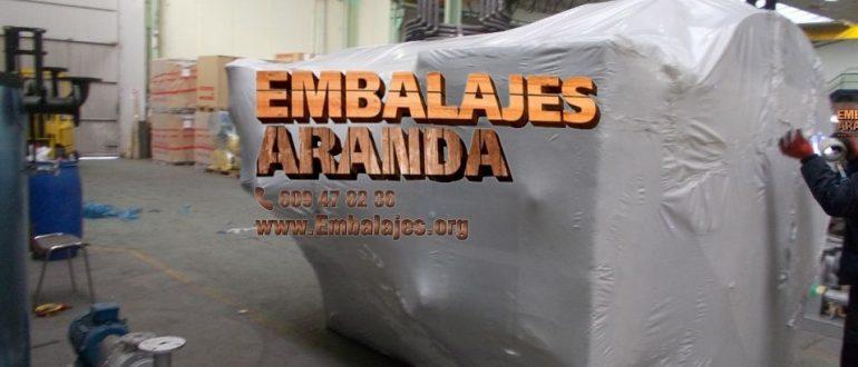 Embalaje industrial Malpica de Bergantiños A Coruña