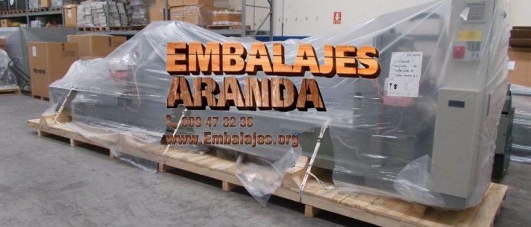 Embalaje industrial Meaño Pontevedra