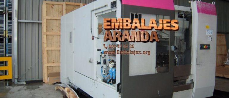Embalaje industrial Medio Cudeyo Cantabria