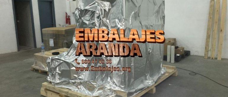 Embalaje industrial Mellid A Coruña