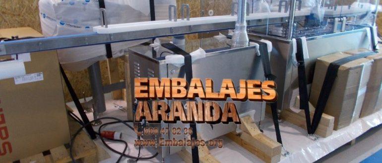 Embalaje industrial Moraleja Cáceres