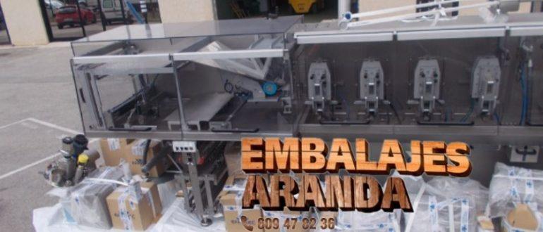 Embalaje industrial Navalvillar de Pela Badajoz