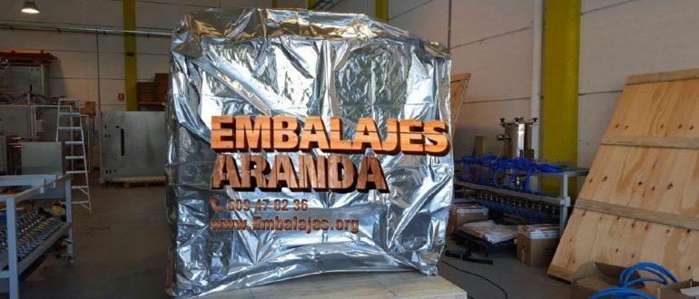 Embalaje industrial O Pino A Coruña