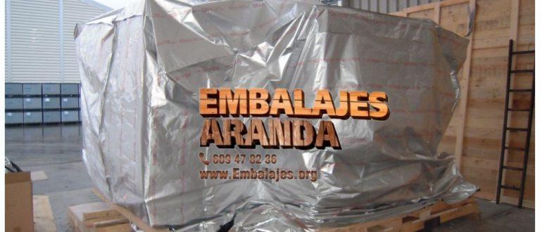 Embalaje industrial Onil Alicante