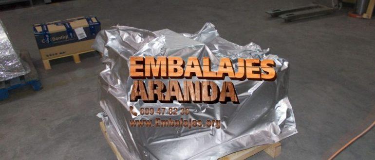 Embalaje industrial Padrón A Coruña