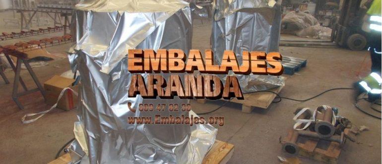 Embalaje industrial Pliego Murcia