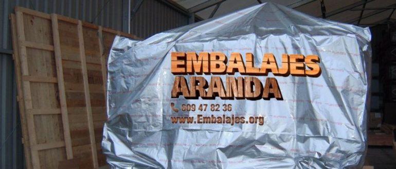 Embalaje industrial Polanco Cantabria