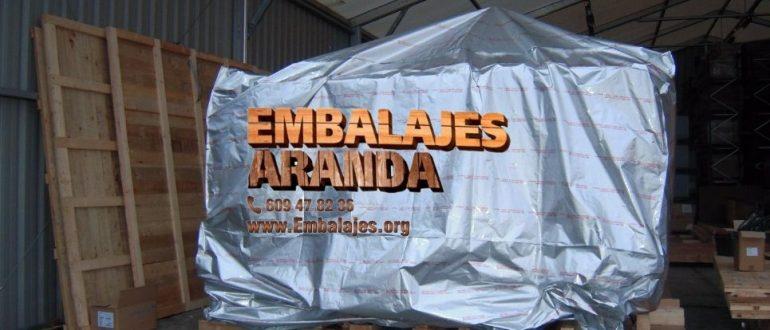 Embalaje industrial Reinosa Cantabria