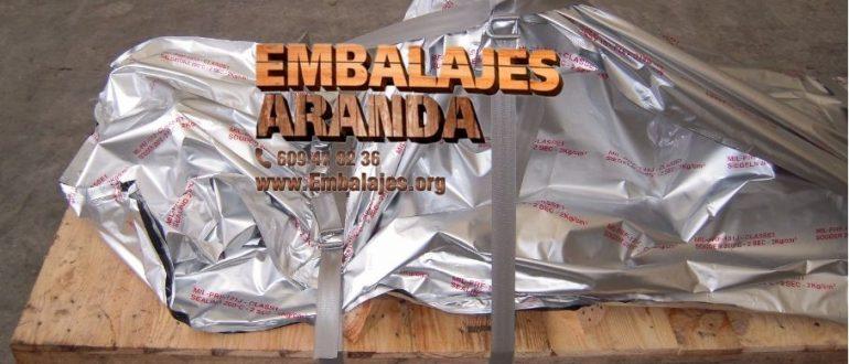 Embalaje industrial Reocín Cantabria