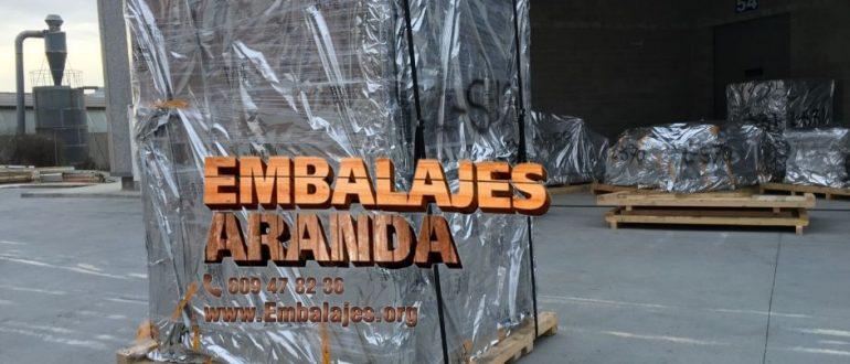 Embalaje industrial Ribadavia Ourense