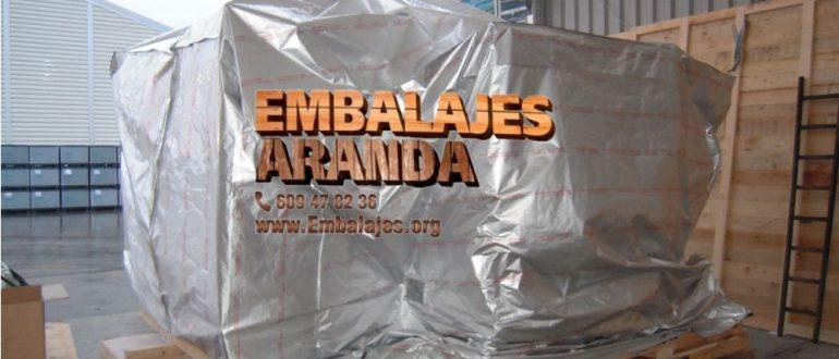 Embalaje industrial Valga Pontevedra