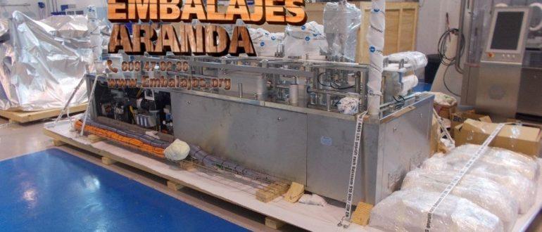 Embalaje industrial Valverde de Leganés Badajoz