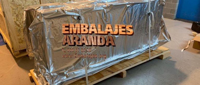 Embalaje industrial Villaescusa Cantabria