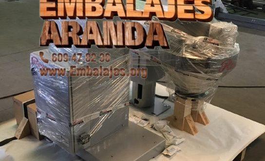 Embalaje industrial Villamediana de Iregua La Rioja