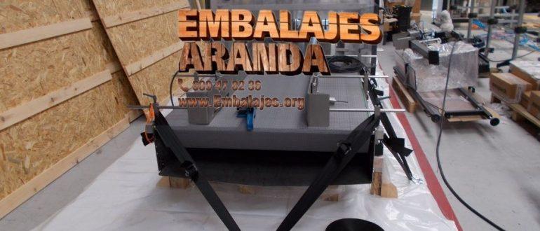 Embalaje industrial Zumarraga Gipuzkoa