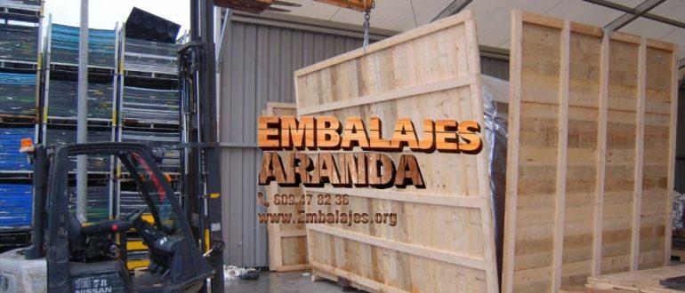 Embalaje madera A Cañiza Pontevedra