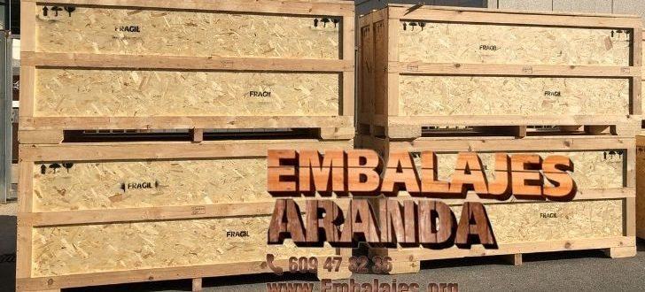 Embalaje madera A Coruña Galicia