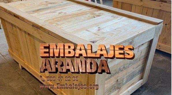 Embalaje madera Abanilla Murcia