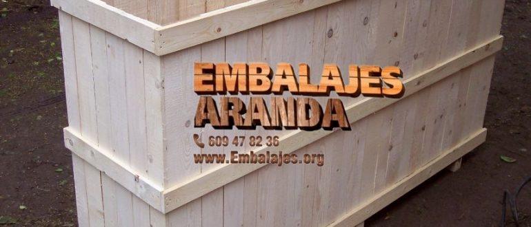 Embalaje madera Abarán Murcia
