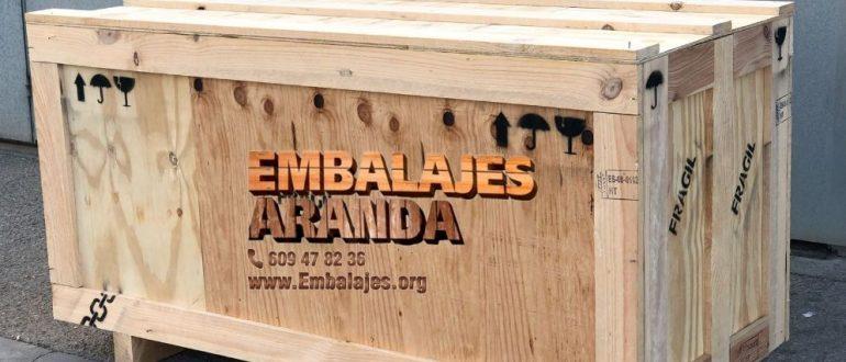 Embalaje madera Abegondo A Coruña