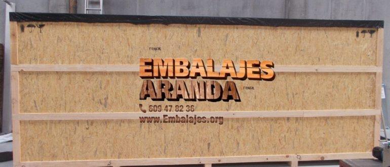 Embalaje madera Aceuchal Badajoz