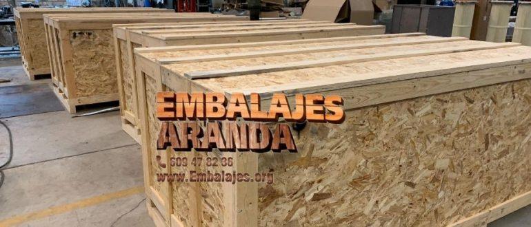 Embalaje madera Adra Almería