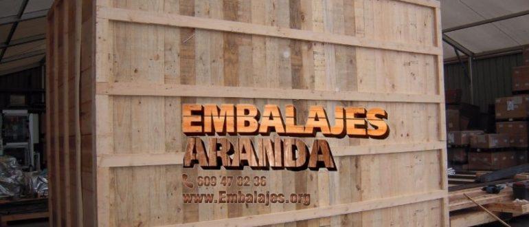 Embalaje madera Agost Alicante