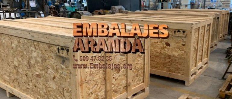 Embalaje madera Agramunt Lleida