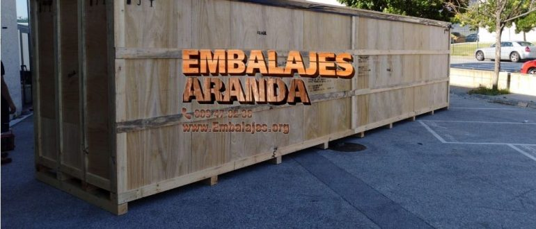 Embalaje madera Aguilar de Campoo Palencia