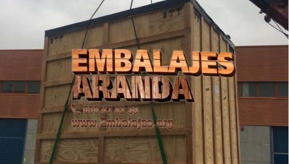 Embalaje madera Aguilar de la Frontera
