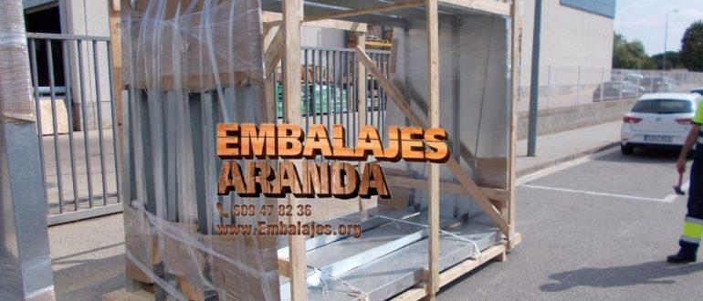 Embalaje madera Águilas Murcia