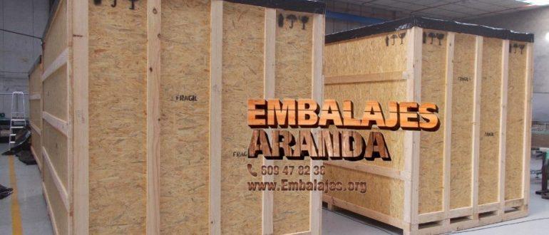 Embalaje madera Ajalvir Madrid