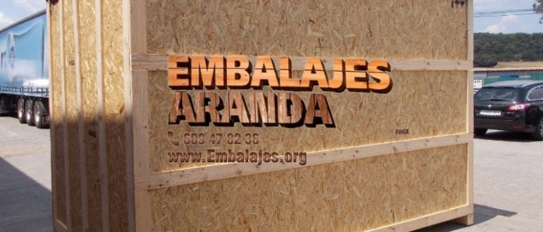 Embalaje madera Alagón Zaragoza