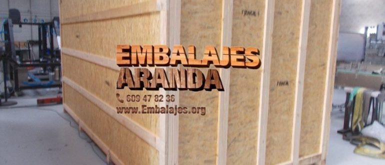Embalaje madera Alaior Illes Balears