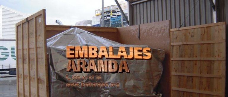 Embalaje madera Alameda Málaga