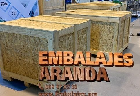 Embalaje madera Alameda de la Sagra Toledo