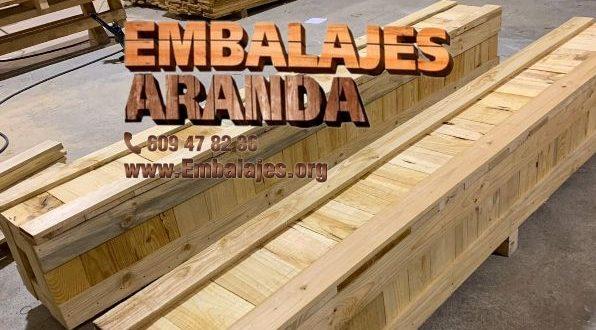 Embalaje madera Alaquàs València