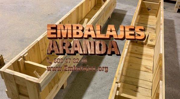 Embalaje madera Alba de Tormes Salamanca