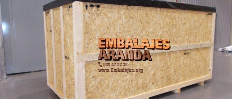 Embalaje madera Albaida València