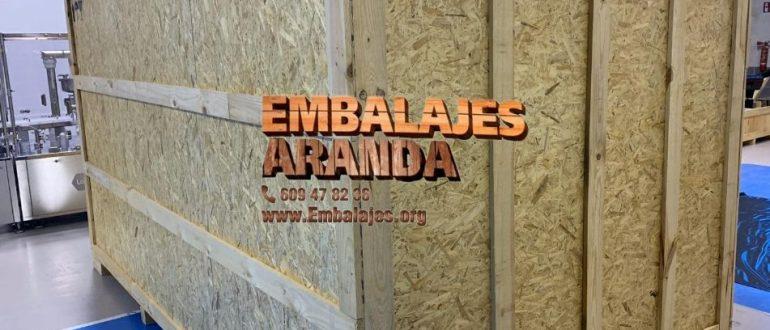 Embalaje madera Albal València